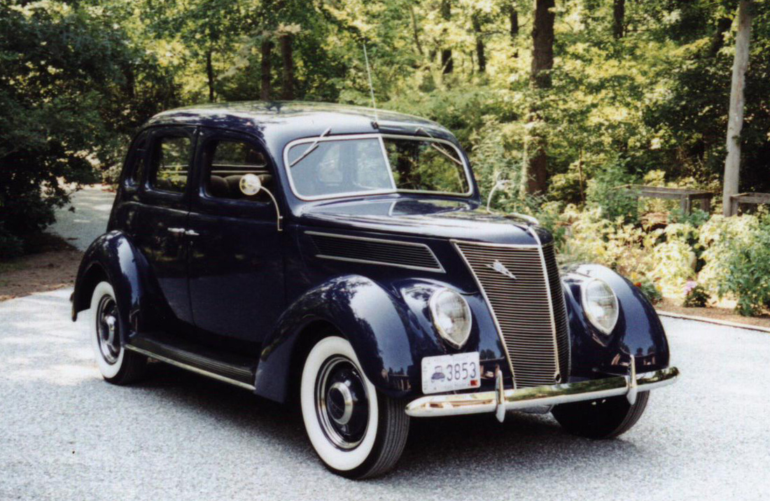 Member vehicles the westerly pawcatuck region of for 1937 ford four door sedan